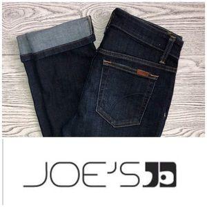 Joe's Jeans | Bridget Dark Wash Skinny Crop Jeans